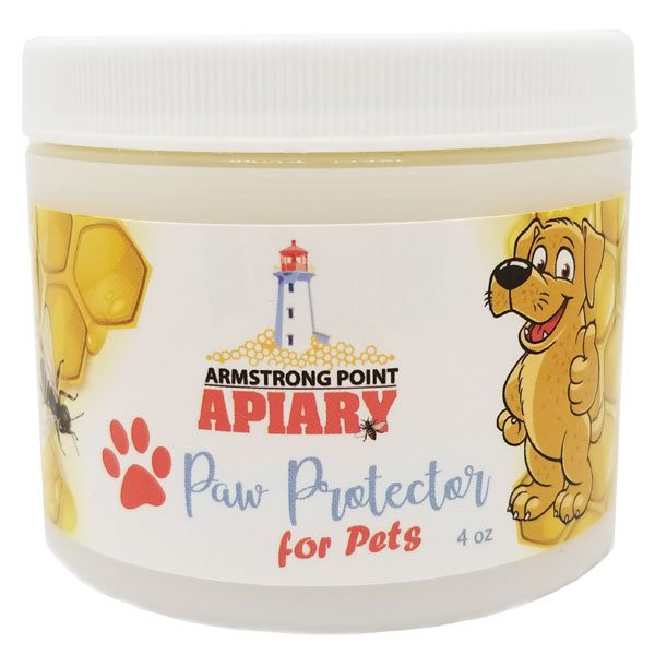 Paw Protector, Bee Products, Natural, Dog paws, Cat paws, sore paws, heal paws