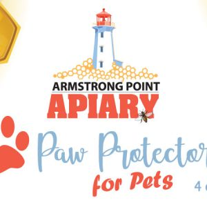 Paw Protector, Natural protection for pets paws, heal paws, dogs, cats