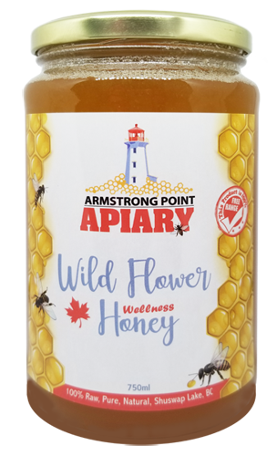 Honey Bee Products, Raw Honey, Pure, Bee Products, Shuswap, BC, Canada